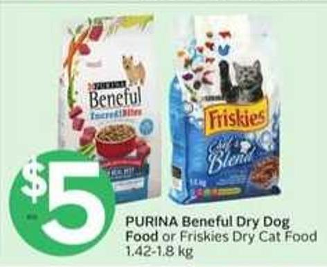 Purina Beneful Dry Dog Food Or Friskies Dry Cat Food