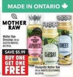Mother Raw Dressings 242 ml
