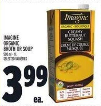 Imagine Organic Broth Or Soup
