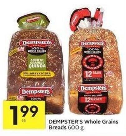Dempster's Whole Grains Breads