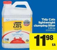 Tidy Cats Lightweight Clumping Litter - 3.86 Kg