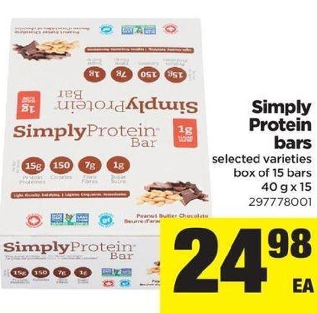 Simply Protein Bars - 40 G X 15
