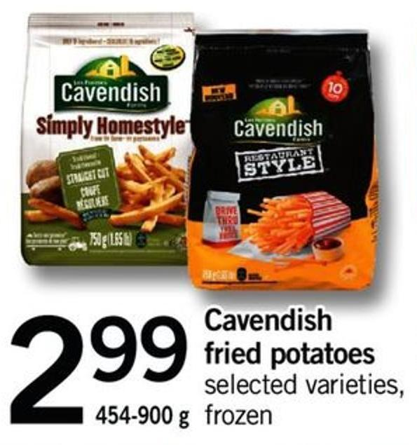 Cavendish Fried Potatoes - 454-900 G