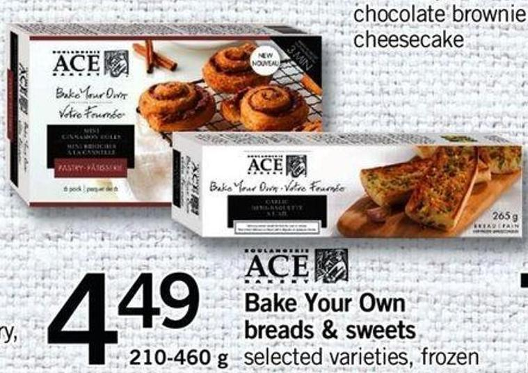 Bake Your Own Breads & Sweets - 210-460 G