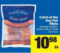 Catch Of The Day Fish Fillets - 580 G-1.32 Kg