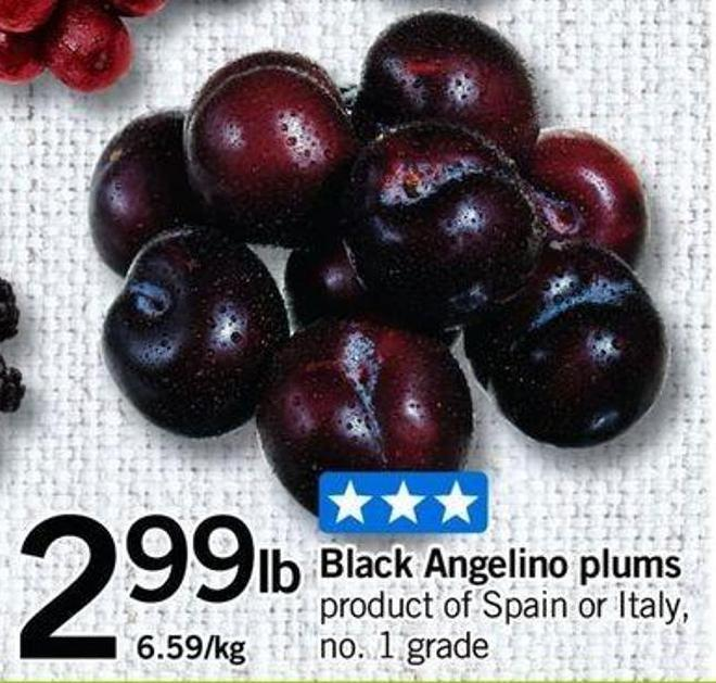 Black Angelino Plums