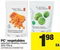 PC Vegetables - 300-750 g