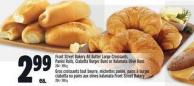Front Street Bakery All Butter Large Croissants - Panini Rolls - Ciabatta Burger Buns Or Kalamata Olive Buns 204 - 390 g