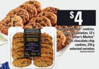 Farmer's Market Cookies - 12's Or Farmer's Market Mini Chocolate Chip Cookies - 310 G