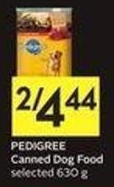 Pedigree Canned Dog Food Selected 630 g