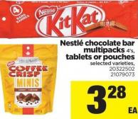 Nestlé Chocolate Bar Multipacks - 4's - Tablets Or Pouches