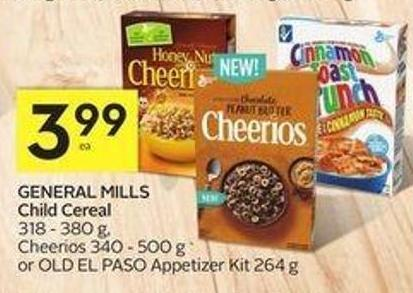 General Mills Child Cereal - 40 Air Miles Bonus Miles