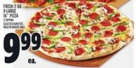 Fresh 2 Go X-large 16in Pizza