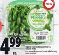 Poppers Snack-sized Cucumbers