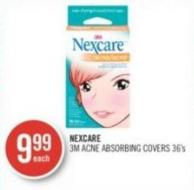 Nexcare 3m Acne Absorbing Covers 36's