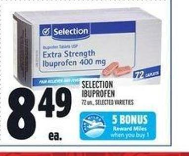Selection Ibuprofen