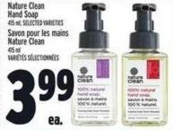 Nature Clean Hand Soap 415 ml