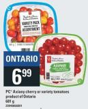 PC Axiany Cherry Or Variety Tomatoes - 681 g