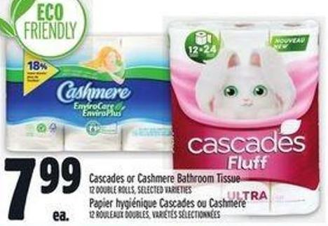 Cascades Or Cashmere Bathroom Tissue