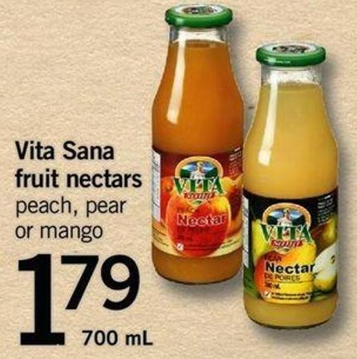 Vita Sana Fruit Nectars - 700 Ml