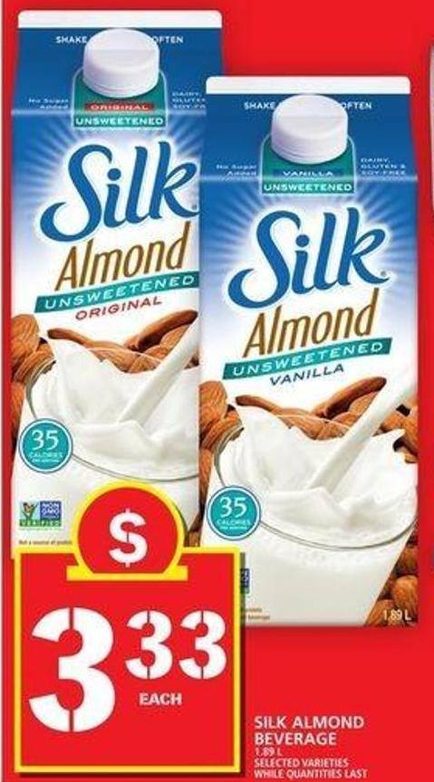 Silk Almond Beverage