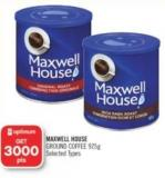 Maxwell House Ground Coffee 925g