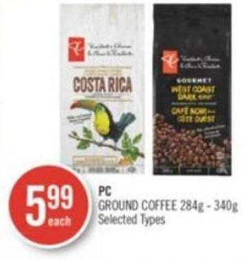 PC Ground Coffee 284g - 340g