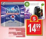 Finish Dishwasher Detergent Or Air Wick Essential Mist Diffuser