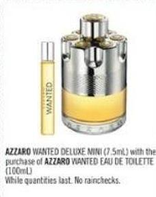 Azzaro Wanted Eau De Toilette (100ml)