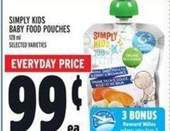 Simply Kids Baby Food Pouches