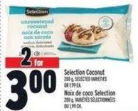 Selection Coconut 200 g