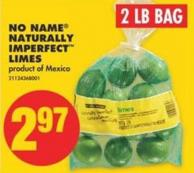 No Name Naturally Imperfect Limes - 2 Lb Bag