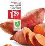 Sweet Potatoes or Yams Canada No 1 -