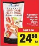 Aquastar King Crab Legs Or Claws - 500 g