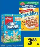 Kellogg's - 305-525 G Or Post - 400-725 G Cereal