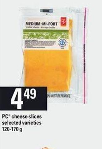 PC Cheese Slices - 120-170 G