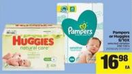 Pampers Or Huggies 9/10x - 336-720's