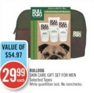 Bulldog Skin Care Gift Set For Men