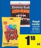 Regal Candy - 30-180 g