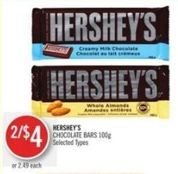 Hershey's Chocolate Bars