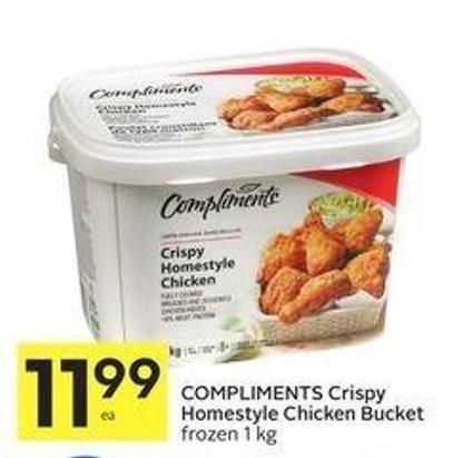 Flamingo Breaded Chicken Wings - Chunkies or Chicken Fries & Popcorn Combo