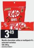 Nestlé Chocolate Cellos Or Multipack - 4's - 120-246 G