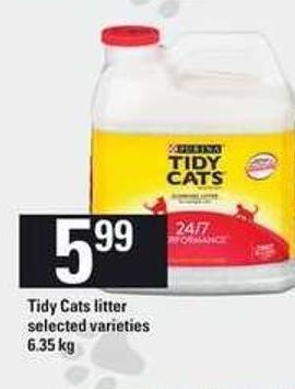 Tidy Cats Litter - 6.35 Kg