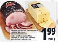 Irresistibles Artisan Classic Black Forest Ham Or Irresistibles Swiss Cheese
