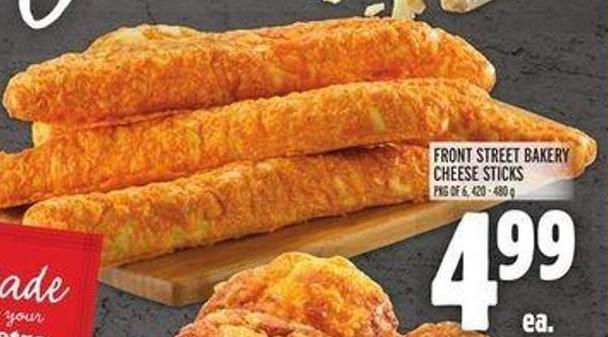 Front Street Bakery Cheese Sticks