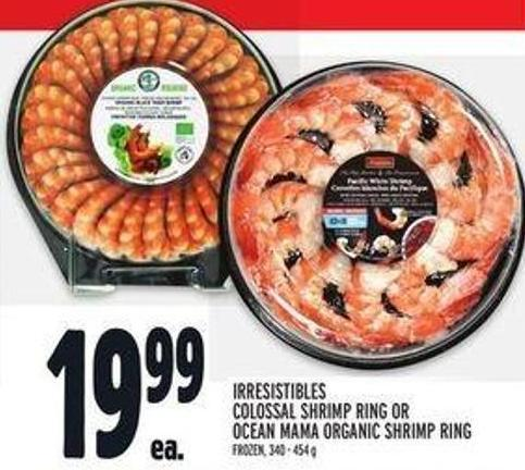 Irresistibles Colossal Shrimp Ring Or Ocean Mama Organic Shrimp Ring