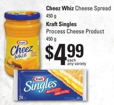 Cheez Whiz Cheese Spread 450 g