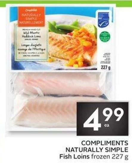 Compliments Naturally Simple Fish Loins