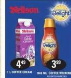 Coffee Whitener - 946 Ml