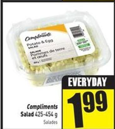 Compliments Salad 425-454 g